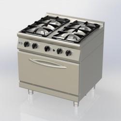 cuisinière 4 feux